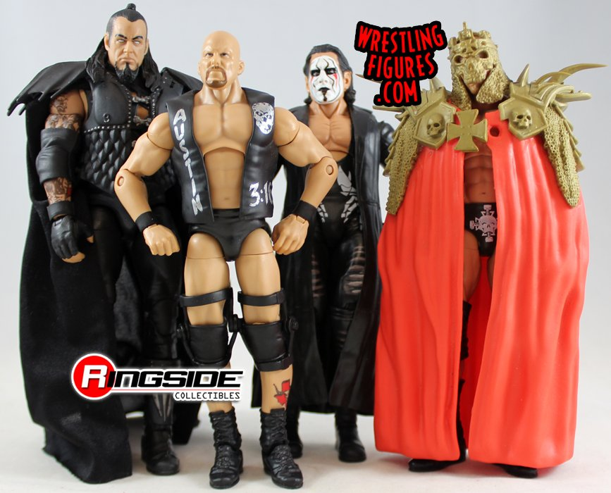 Loose Figures Sting Undertaker Triple H Stone Cold