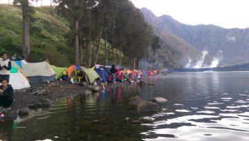 Segara Anak Lake Rinjani