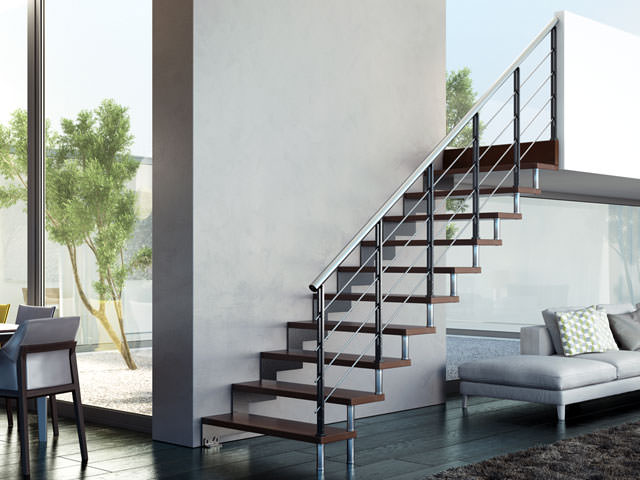 Steel Staircase Rintal Daisy