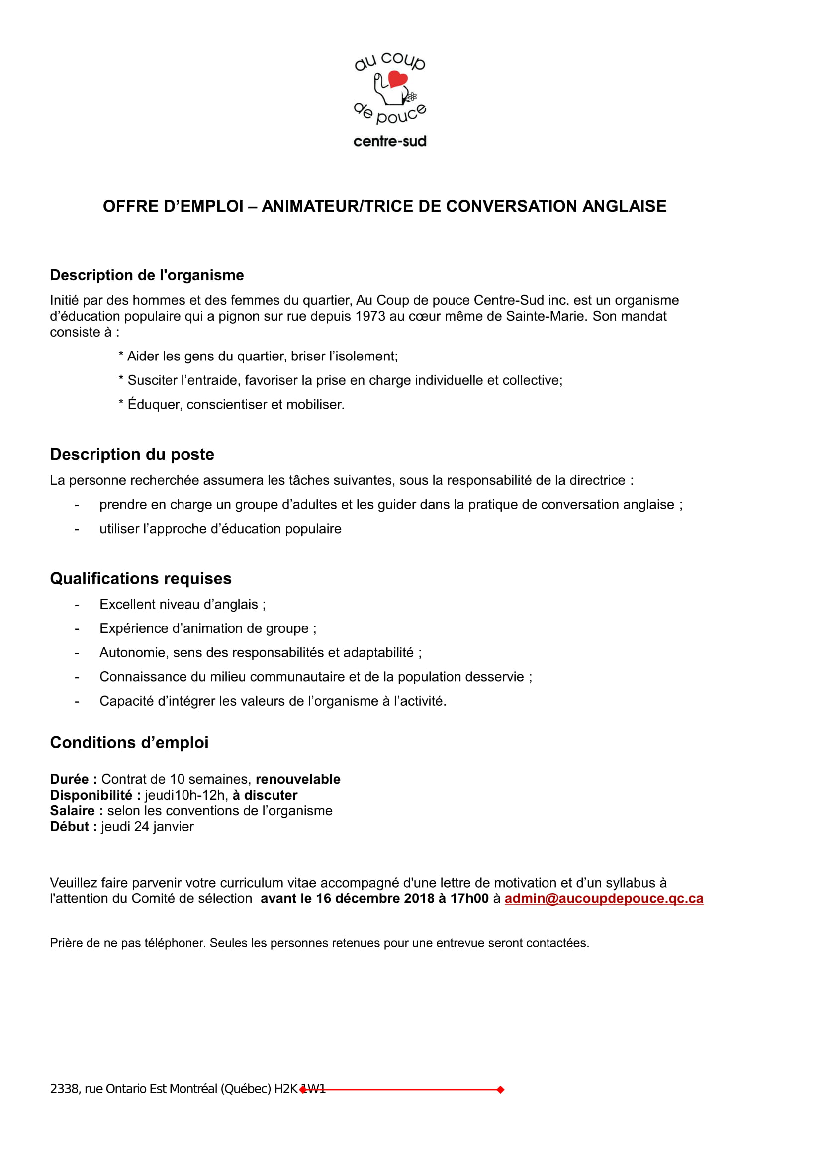 cv personalite exemple