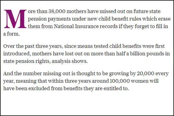 Child Benefit Scams Adoption, Abduction, Modeleling fraud