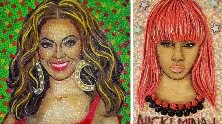 Candy portraits