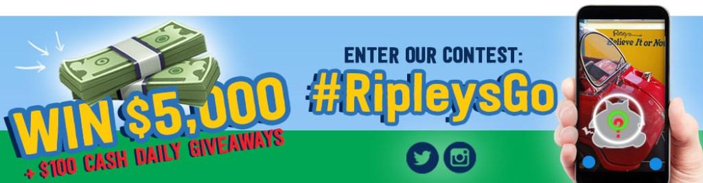 Win $5000 Playing Pokemon Go at Ripleys