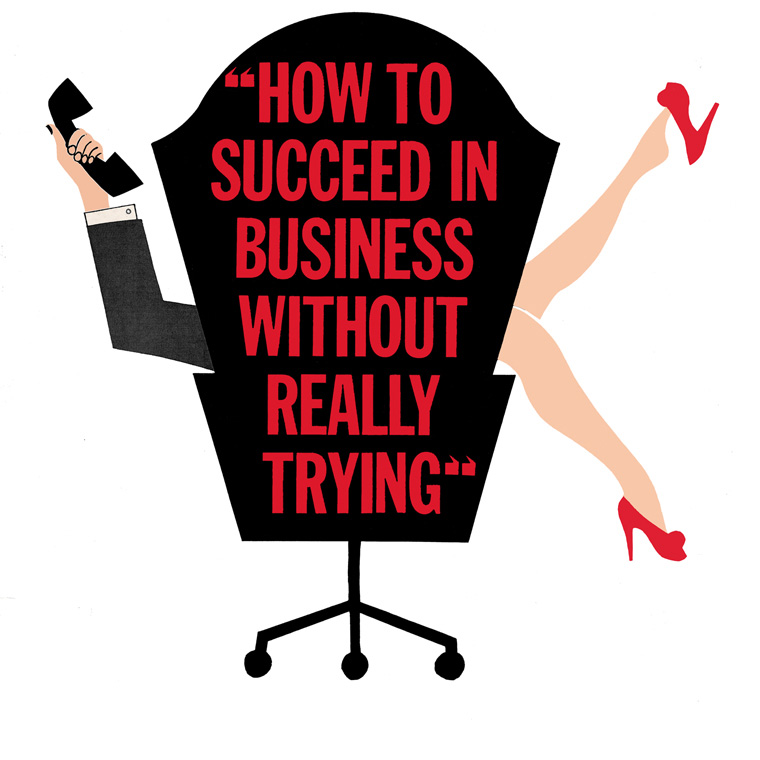 Theatre Production How to Succeed in Business Without Really Trying