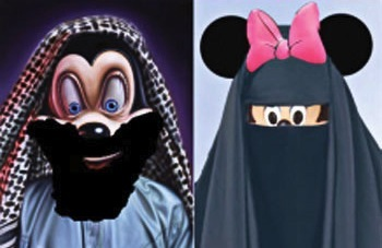 bearded-mickey-mouse+and+minnie