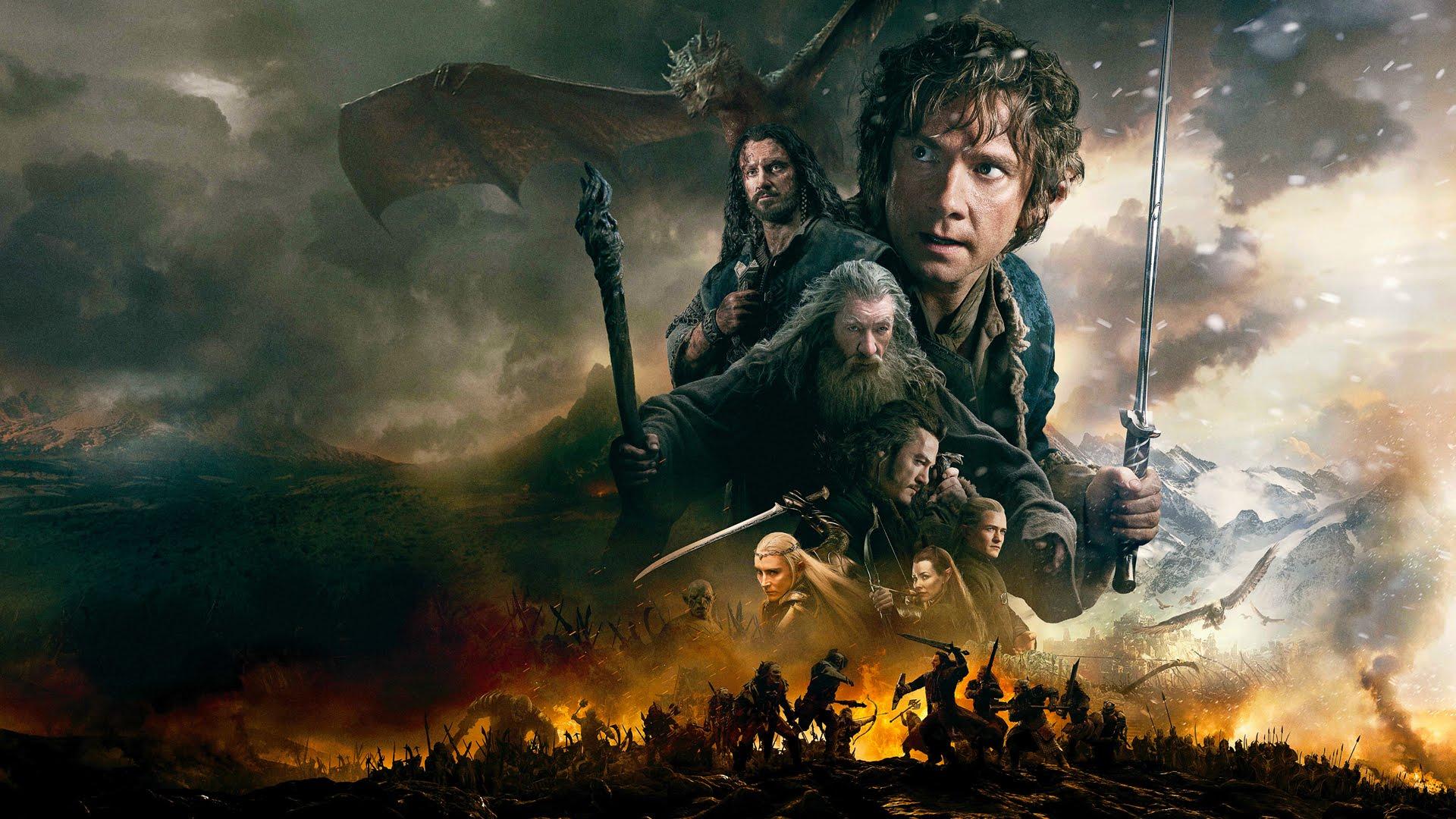 Desktop Wallpaper Tolkien Quote La Edici 243 N Extendida De El Hobbit La Batalla De Los Cinco