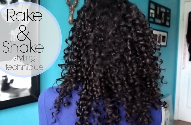 Learn how to do the rake and shake method to get soft and defined curls!