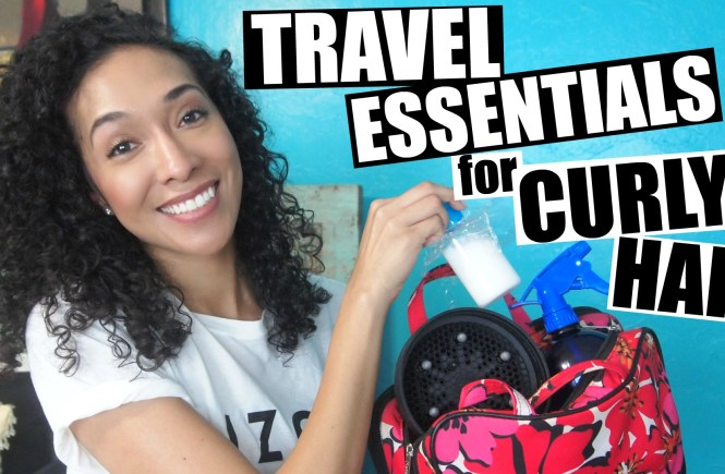Travel Essentials For Naturally Curly Hair