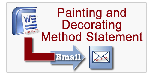 Painting and Decorating Method Statement Templates