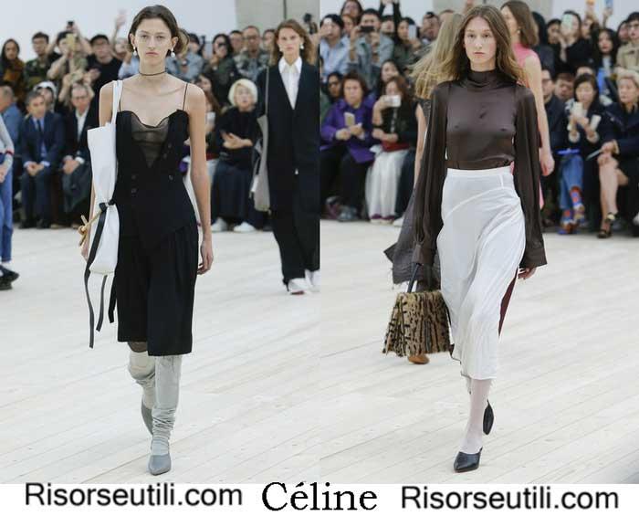 Celine Spring Summer 2017 Clothing For Women