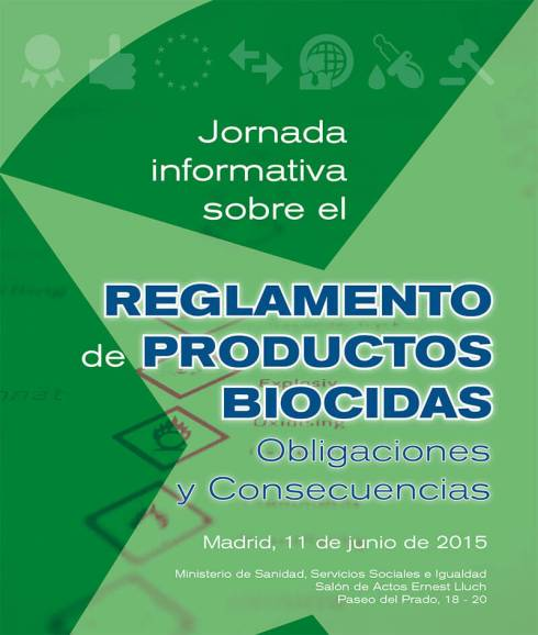 Jornada informativa sobre el Reglamento de Productos Biocidas