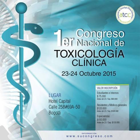 1er Congreso Nacional de Toxicología Clínica