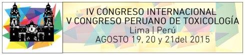 IV Congreso Internacional y V Congreso Peruano de Toxicología