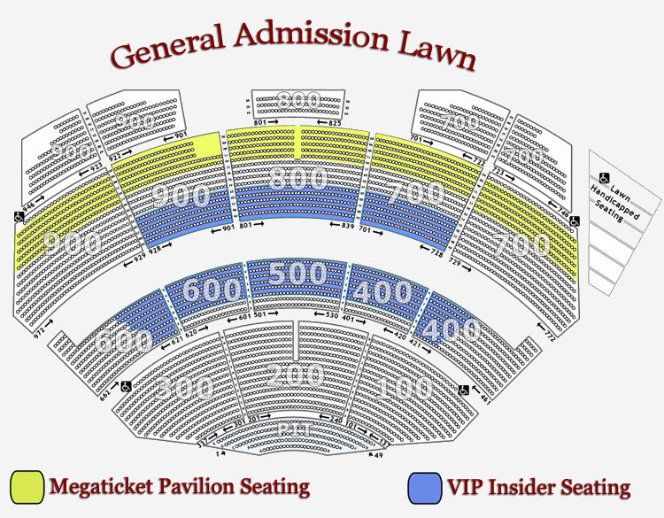 19 Images Dte Energy Music Theatre Seating Chart With Seat Numbers