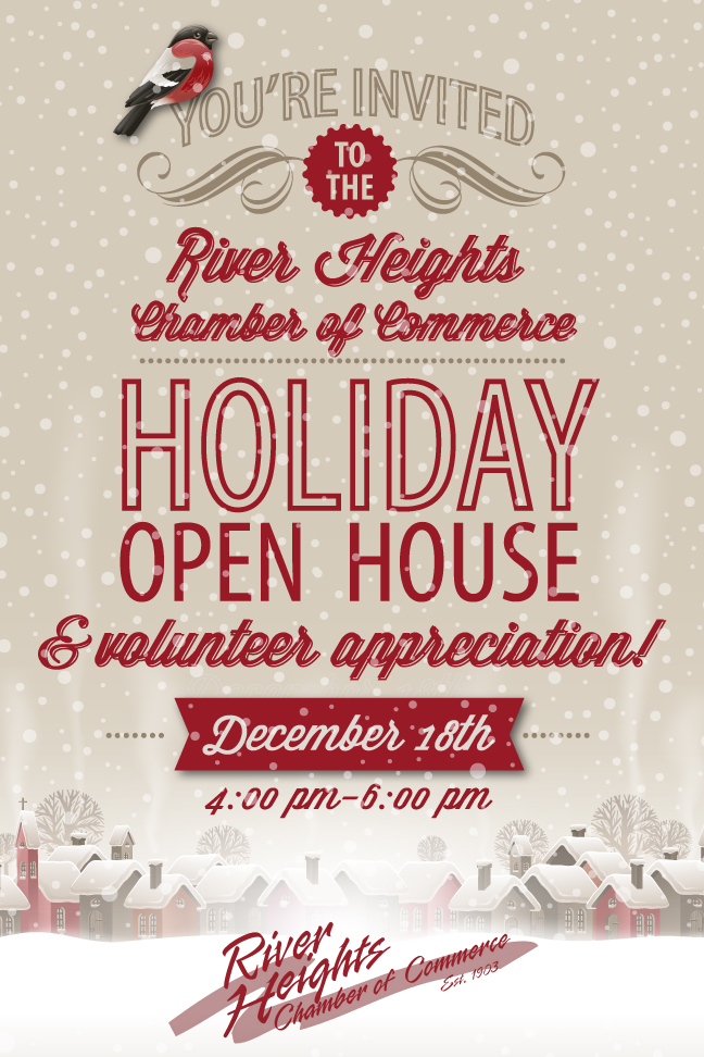 You\u0027re Invited to a Volunteer Appreciation Holiday Open House! Dec