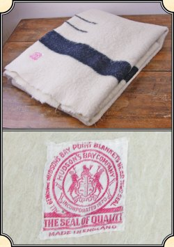 Small Of Hudson Bay Blanket