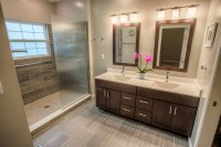 West Lafayette Contemporary Master Bathroom Remodel ...