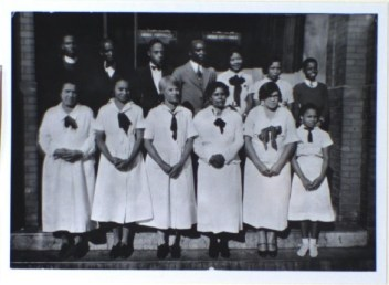 Bethel AME congregation, c.1935