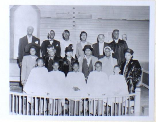 Bethel AME choir, c.1940