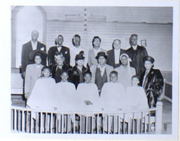 Bethel AME choir, c.1940