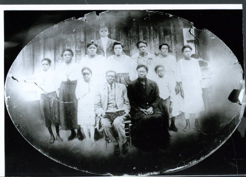 The Shines family before they emigrated to River Street in the mid-twentieth century (n.d.)