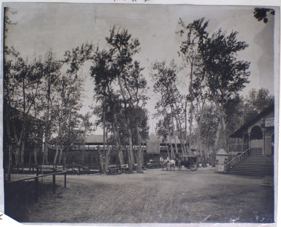 Riverside Park was one of River Street's finest amenities during the early 20th century (n.d.)