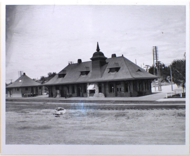 The old Union Pacific Depot near River Street brought passengers from far and wide to Boise (n.d.)