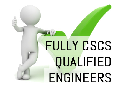 Fully CSCSC Qualified Engineers