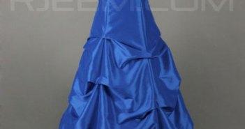 فستان سهرة راقي ازرق