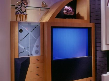 طاولات تلفزيون حديثة