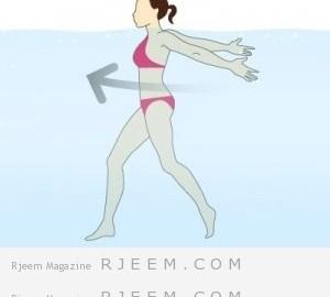 تمارين الماء الاكواسبور احدث التمارين لنحت الجسم و حرق الدهون