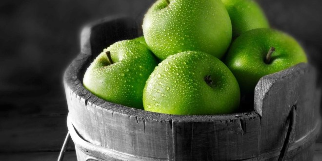التفاح الاخضر و اخر الدراسات