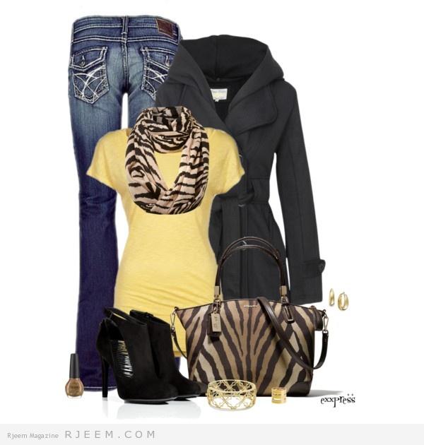 تنسيق ملابس صبايا 2014