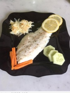 وصفة سمك دايت