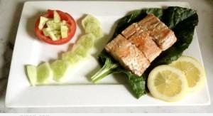 وصفة سمك السلمون دايت