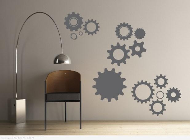ديكورات حائط عصرية 2014
