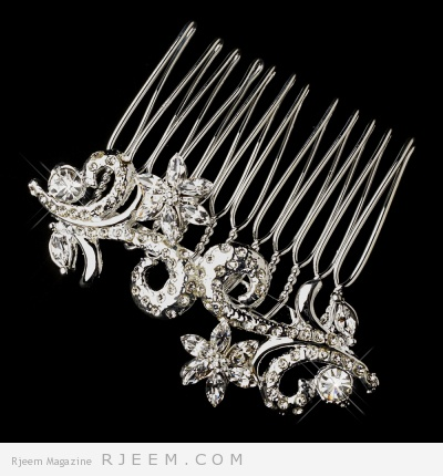 اكسسوارات شعر للعروس 2014