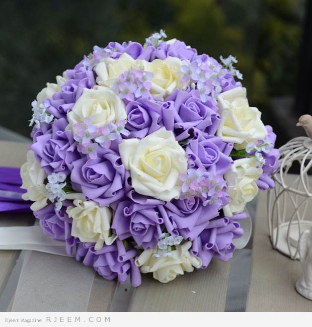 مسكات ورود للعروس رائعة