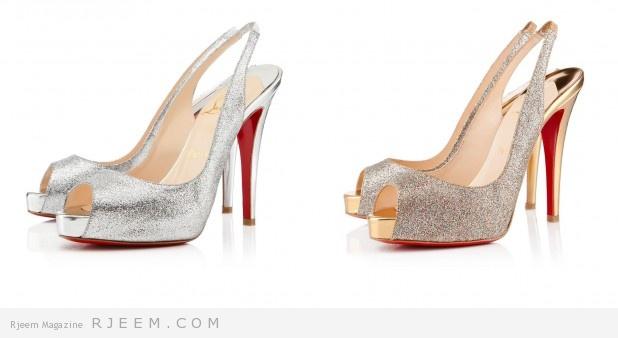 أحذية خطوبة مميزة لعروس 2014
