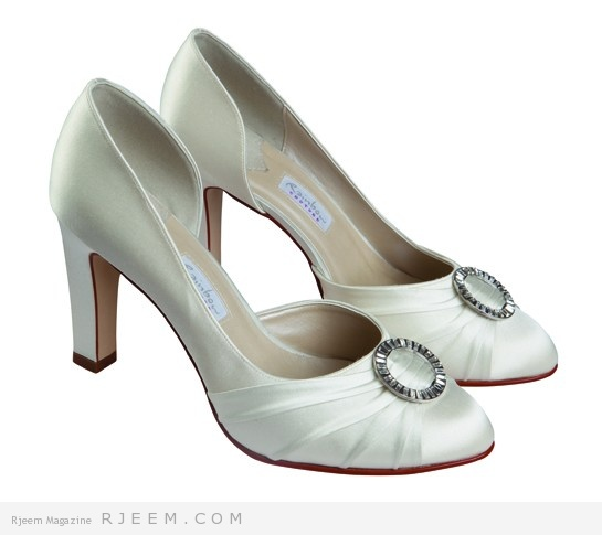 احذية زفاف مميزة لعروس 2014