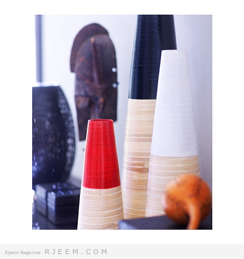 ديكورات vase لتزيين الغرف روعه