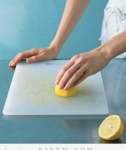 كيفية تنظيف لوح التقطيع في المطبخ