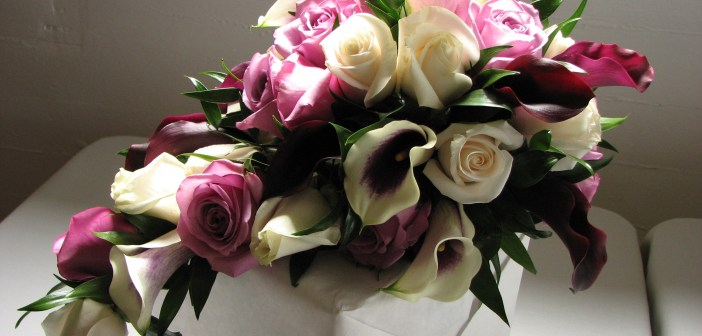 مسكات زهور لعروس 2014