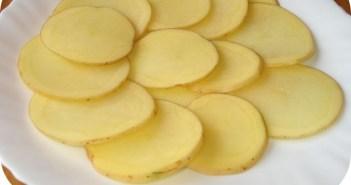 ماسك  البطاطا لبشرة براقة و جميلة