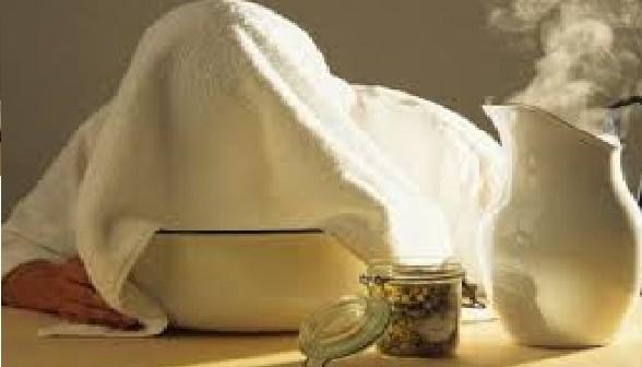 خطوات استخدام بخار الوجه المنزلي