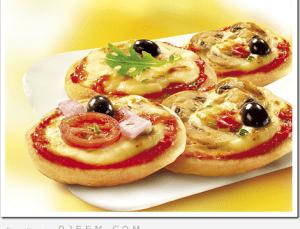 طريقة سهلة لعمل ميني بيتزا