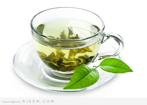 الشاي الاخضر