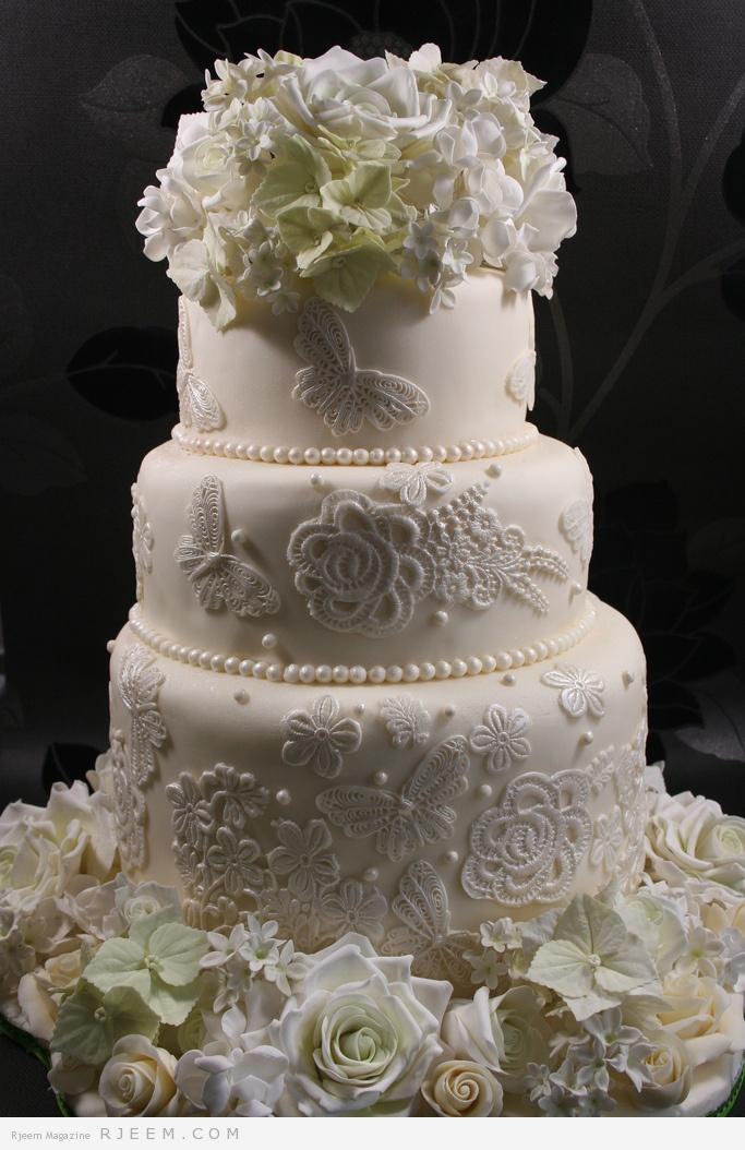 كعكات رائعة لعروس 2014