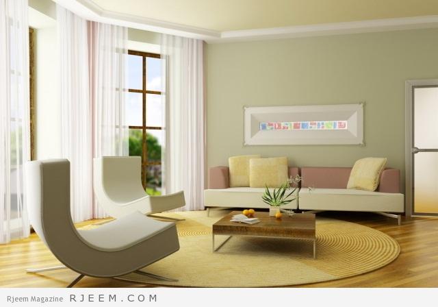 ديكورات غرف الجلوس فخامة و اناقة