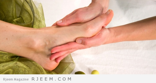 علاج حرارة القدمين بالأعشاب